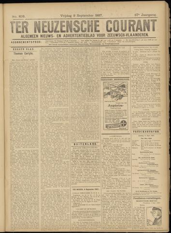 Ter Neuzensche Courant. Algemeen Nieuws- en Advertentieblad voor Zeeuwsch-Vlaanderen / Neuzensche Courant ... (idem) / (Algemeen) nieuws en advertentieblad voor Zeeuwsch-Vlaanderen 1927-09-09