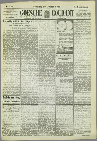 Goessche Courant 1930-10-29