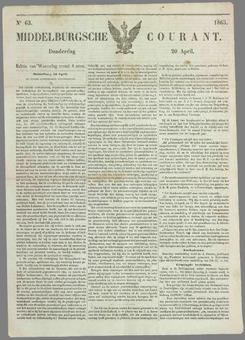 Middelburgsche Courant 1865-04-20