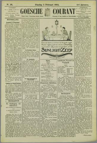 Goessche Courant 1924-02-05