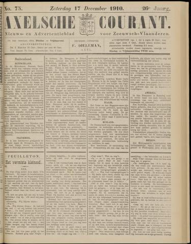 Axelsche Courant 1910-12-17