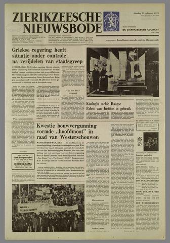 Zierikzeesche Nieuwsbode 1975-02-25