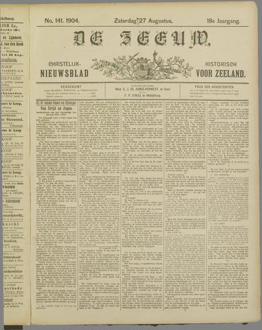 De Zeeuw. Christelijk-historisch nieuwsblad voor Zeeland 1904-08-27