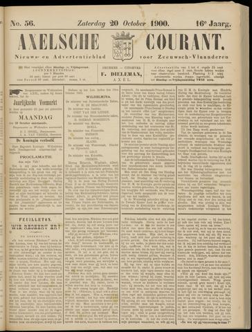 Axelsche Courant 1900-10-20