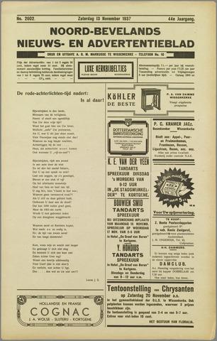 Noord-Bevelands Nieuws- en advertentieblad 1937-11-13