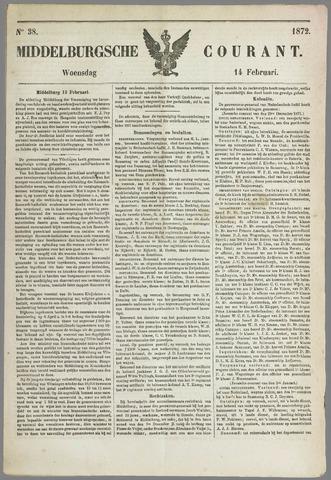 Middelburgsche Courant 1872-02-14