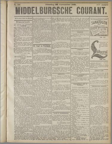 Middelburgsche Courant 1921-11-29