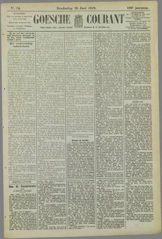Goessche Courant 1919-06-26