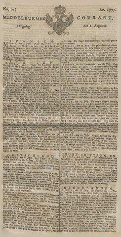 Middelburgsche Courant 1775-08-01