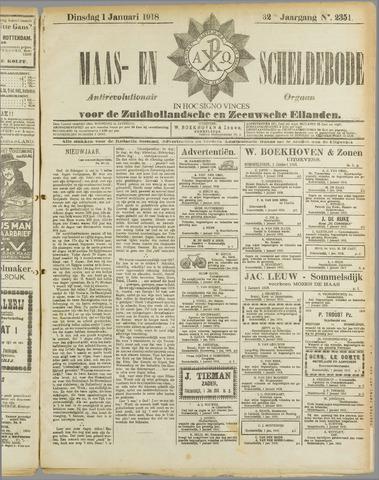 Maas- en Scheldebode 1918