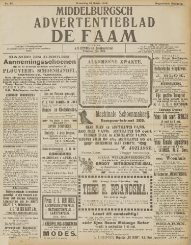 de Faam en de Faam/de Vlissinger 1915-03-31