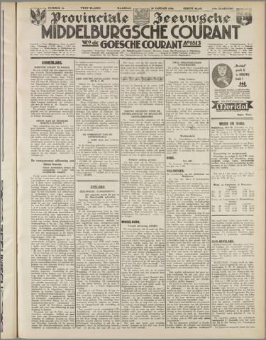 Middelburgsche Courant 1936-01-20