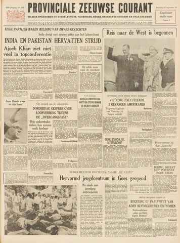 Provinciale Zeeuwse Courant 1965-09-27