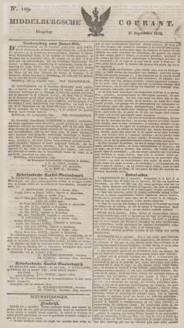 Middelburgsche Courant 1832-09-11
