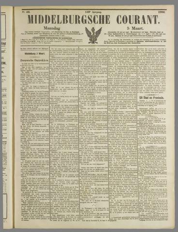 Middelburgsche Courant 1906-03-05