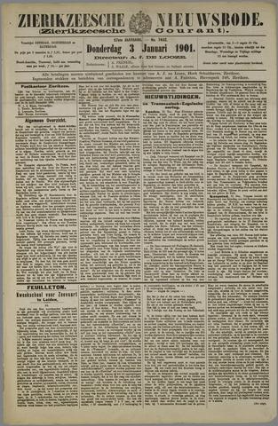 Zierikzeesche Nieuwsbode 1901-01-03