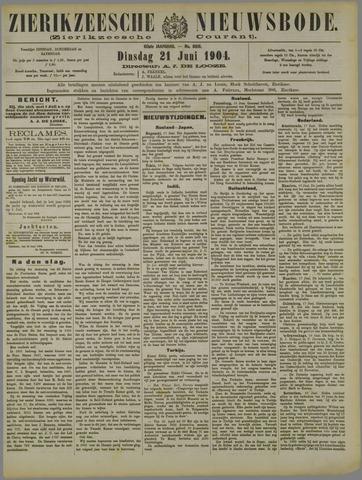 Zierikzeesche Nieuwsbode 1904-06-21