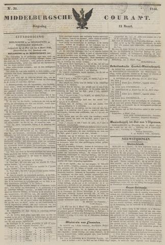 Middelburgsche Courant 1844-03-12