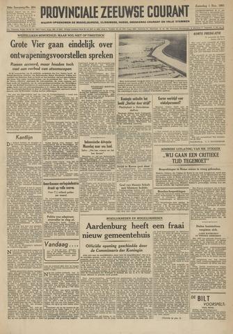 Provinciale Zeeuwse Courant 1951-12-01