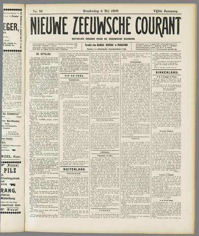 Nieuwe Zeeuwsche Courant 1909-05-06