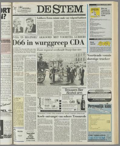 de Stem 1989-09-20