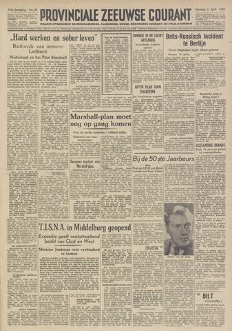 Provinciale Zeeuwse Courant 1948-04-06