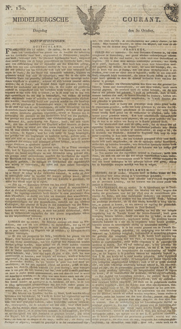 Middelburgsche Courant 1827-10-30