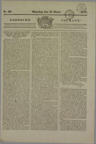 Goessche Courant 1842-03-21