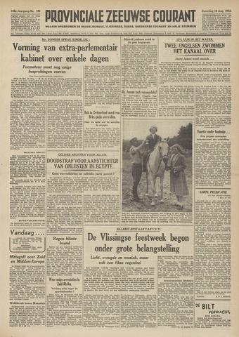 Provinciale Zeeuwse Courant 1952-08-16