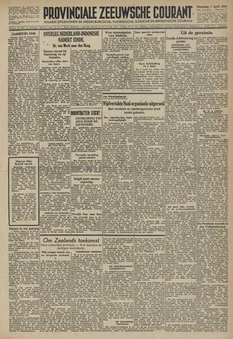 Provinciale Zeeuwse Courant 1946-04-01