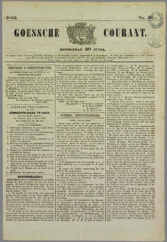 Goessche Courant 1853-06-30