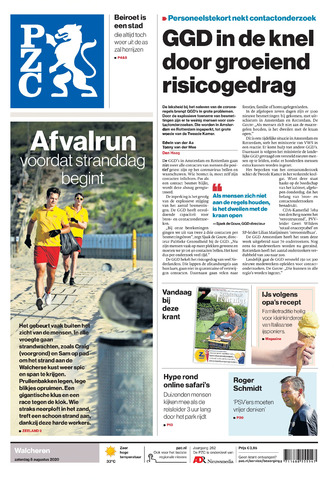 Provinciale Zeeuwse Courant 2020-08-08