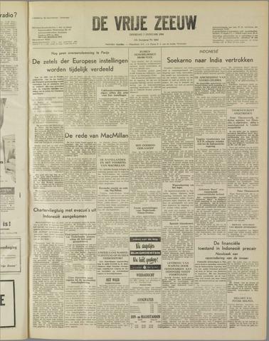 de Vrije Zeeuw 1958-01-07