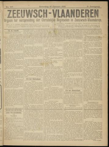 Luctor et Emergo. Antirevolutionair nieuws- en advertentieblad voor Zeeland / Zeeuwsch-Vlaanderen. Orgaan ter verspreiding van de christelijke beginselen in Zeeuwsch-Vlaanderen 1920-01-10