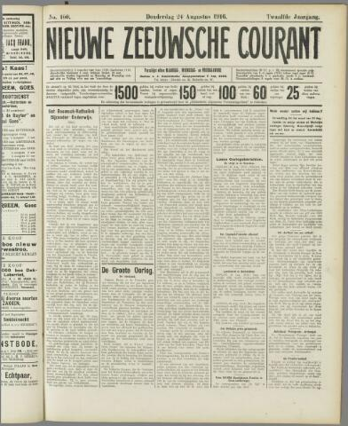 Nieuwe Zeeuwsche Courant 1916-08-24