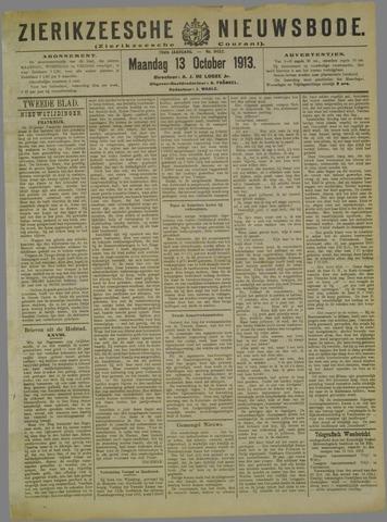Zierikzeesche Nieuwsbode 1913-10-13