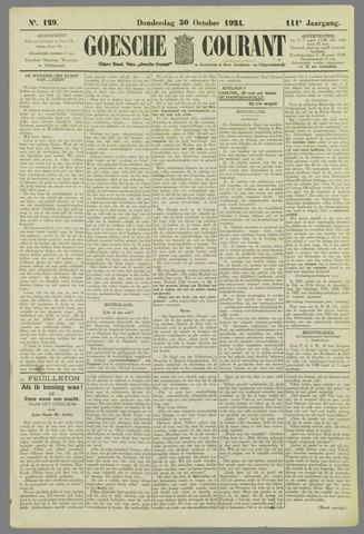 Goessche Courant 1924-10-30