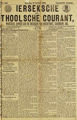 Ierseksche en Thoolsche Courant 1901-10-19
