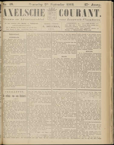 Axelsche Courant 1911-09-20