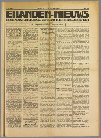 Eilanden-nieuws. Christelijk streekblad op gereformeerde grondslag 1935-01-12