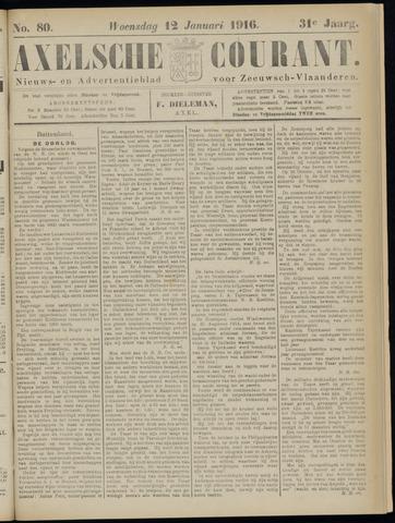Axelsche Courant 1916-01-12