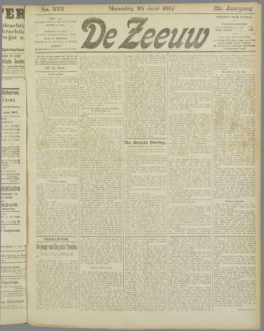 De Zeeuw. Christelijk-historisch nieuwsblad voor Zeeland 1917-06-25