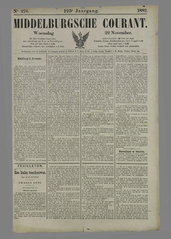 Middelburgsche Courant 1882-11-22