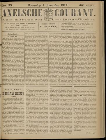 Axelsche Courant 1917-08-01