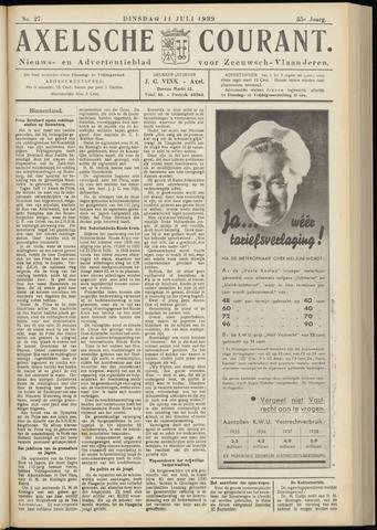Axelsche Courant 1939-07-11