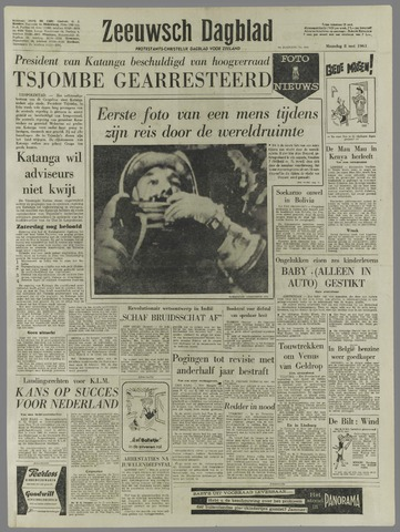 Zeeuwsch Dagblad 1961-05-08