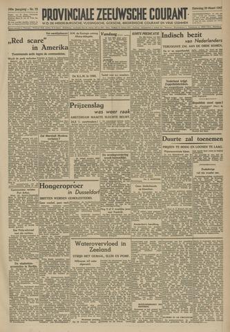 Provinciale Zeeuwse Courant 1947-03-29