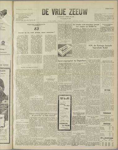 de Vrije Zeeuw 1958-02-01