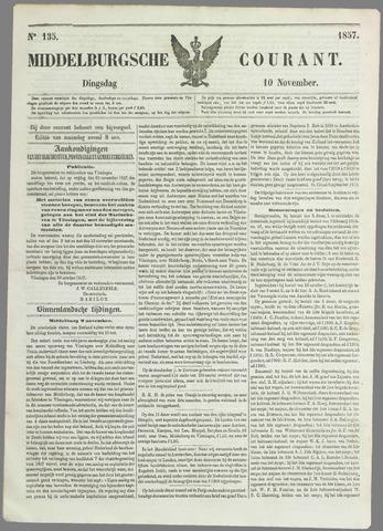 Middelburgsche Courant 1857-11-10