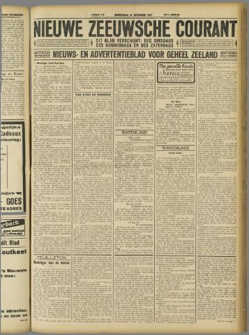 Nieuwe Zeeuwsche Courant 1927-11-24